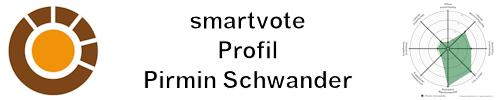 smartvote Profil Pirmin Schwander